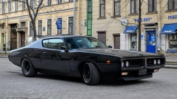 Badass Murdered out Dodge Charger