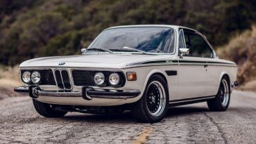 BMW E9 Coupe with S54 I6 and 6 Speed Manual out of an E46 M3.