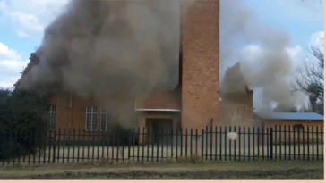 Church roof collapse (19 June 2021, Secunda, South Africa)