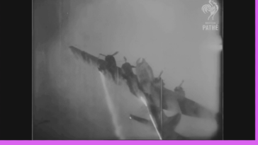 B-17 destroyed by Nike missile (1954)