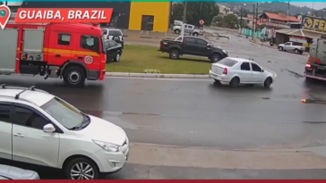 Fire Truck in Right Place at Right Time (12/08/2019)
