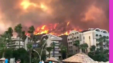 Video from the fires in Turkey in the last few days