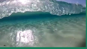 This wave is amazing