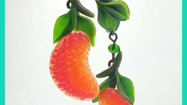 I create new design juicy citrus from polymerclay